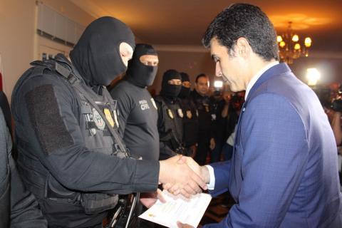 Foto de Policiais civis que frustraram assalto a banco no Pará foram homenageados pelo Governo