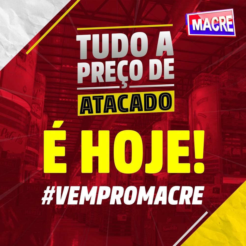 """Foto de Promoção no Macre: """"Tudo a Preço de Atacado"""" corra é só hoje 9 de fevereiro"""