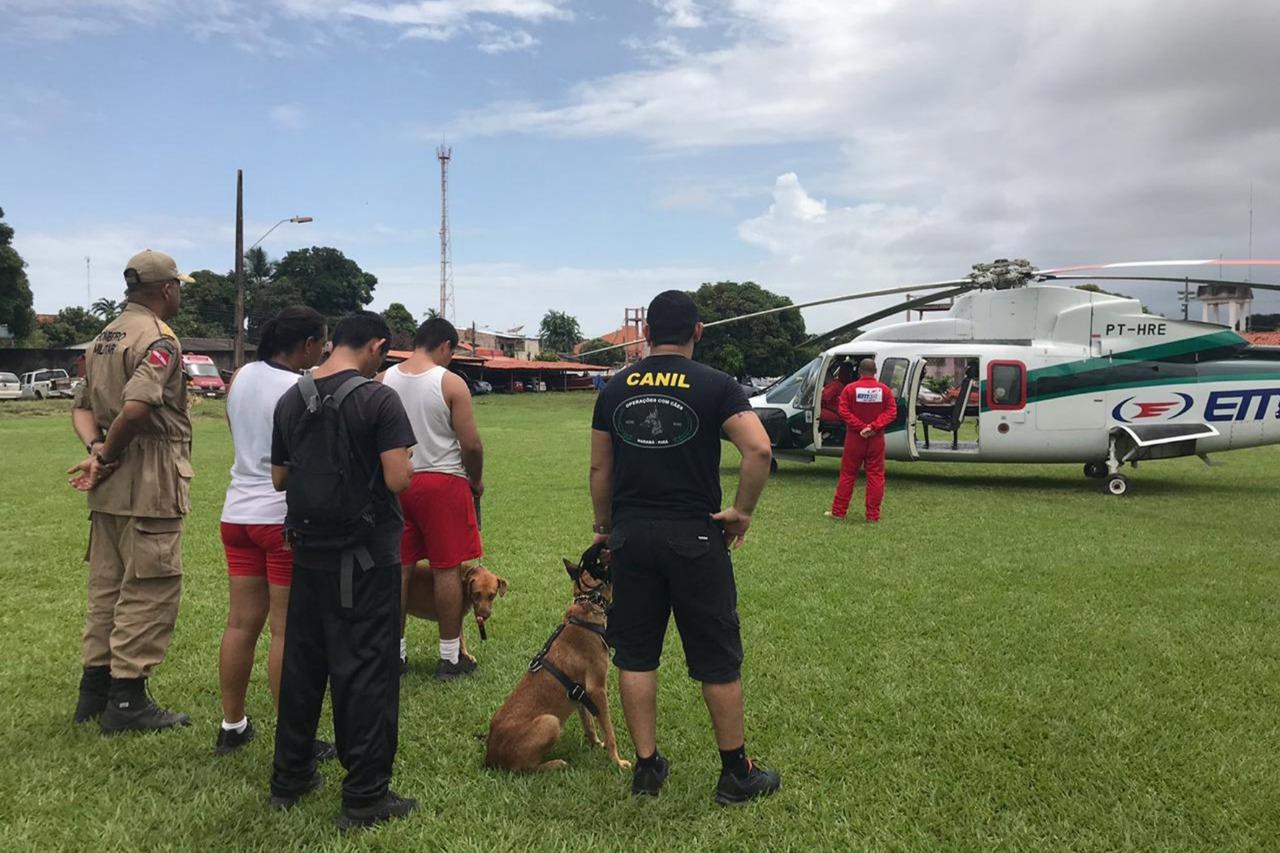 Foto de Bombeiros Militares de Santarém embarcam para buscas em Brumadinho