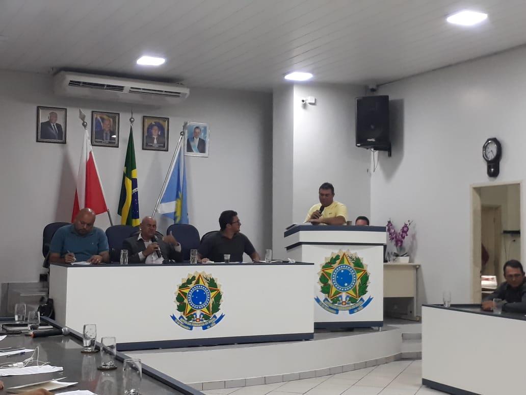 Foto de Vereador apresenta projeto de Resolução sem obedecer os critérios do Regimento Interno