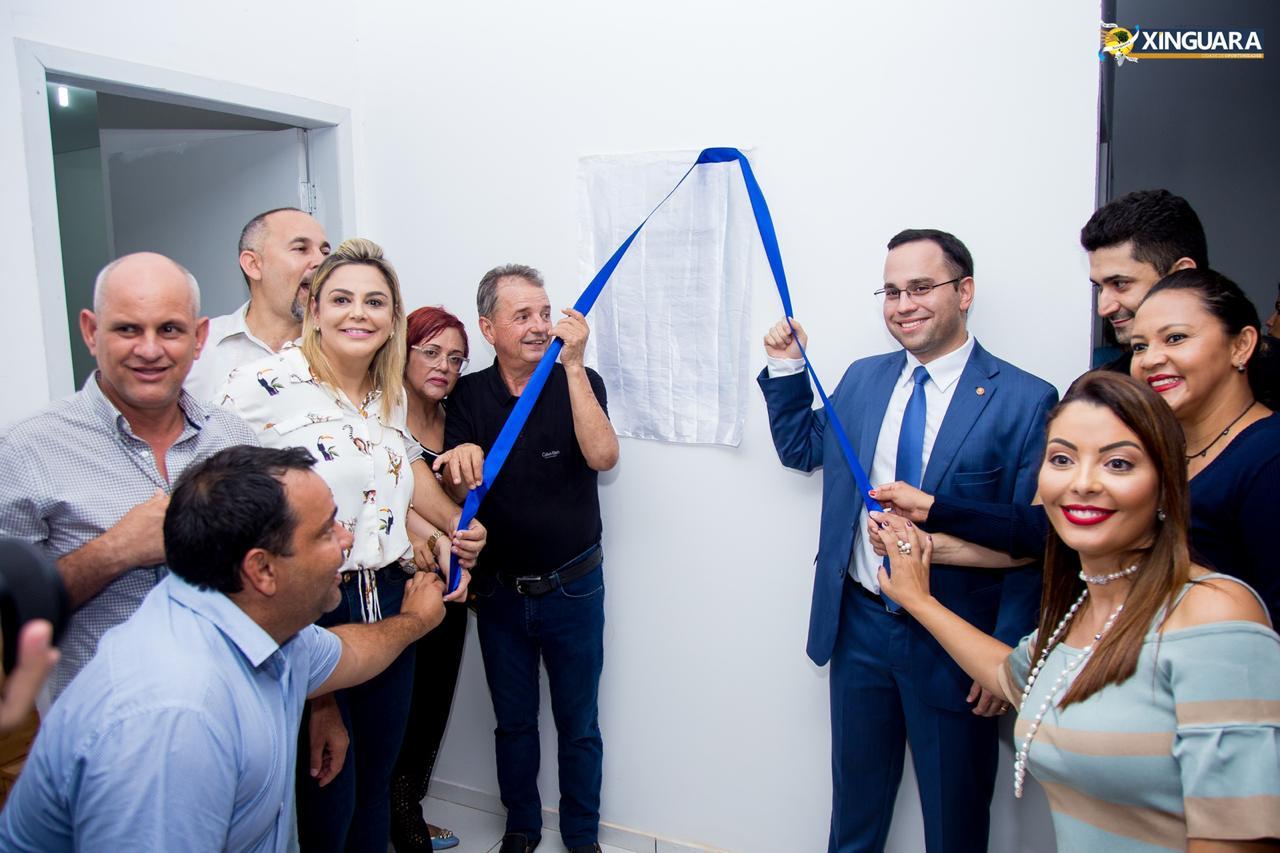 Foto de A Saúde Pública de Xinguara inaugura uma importante obra para o Município
