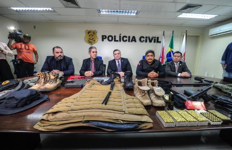 Foto de Polícia Civil prende falso policial acusado de integrar grupo de milicianos