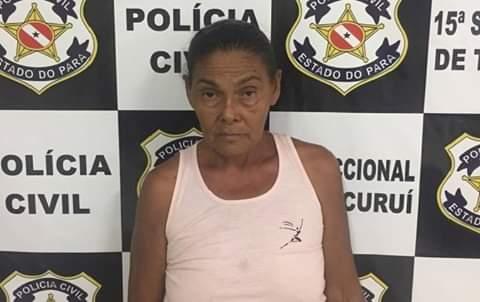 Foto de PC prende em flagrante mãe de autores de homicídios em Baião