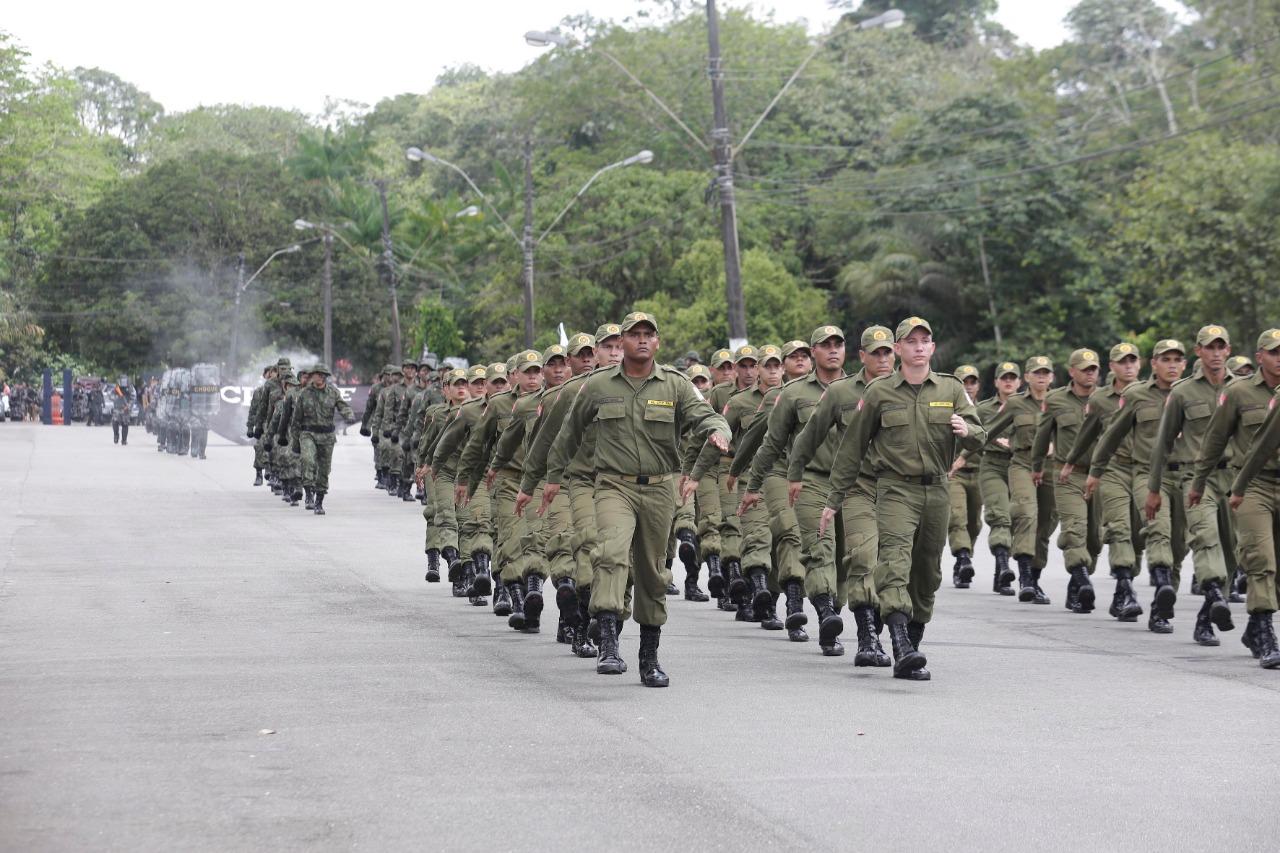Foto de Governo anuncia concurso com 7 mil vagas para Polícia Militar