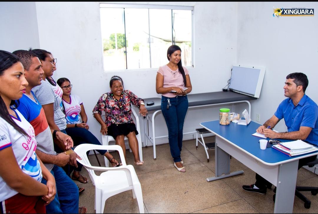 Foto de Moradores dos Distritos Rio Vermelho e São José, já conta com médico do PMM