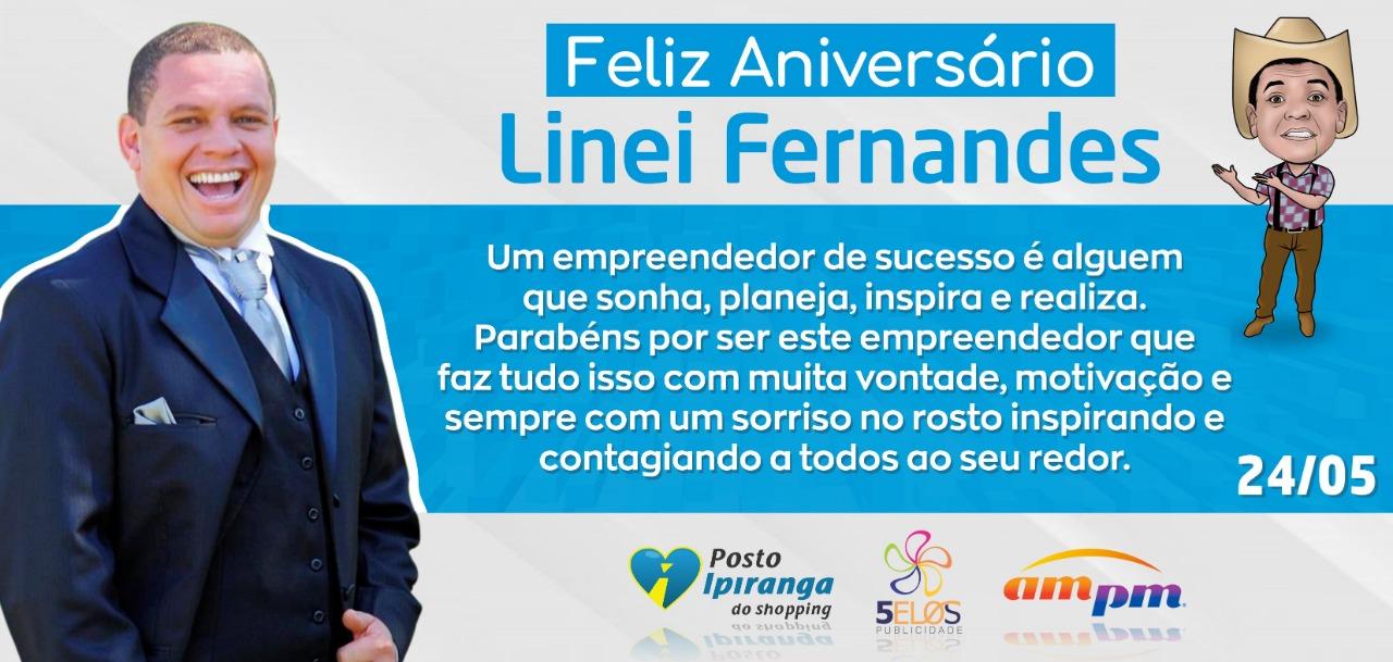"""Foto de Aniversariante do Dia: Parabéns Linei Fernandes """"Mineirinho"""""""