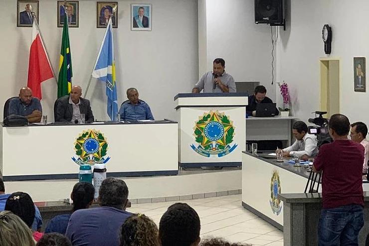 Foto de Xinguara: Vereador quer CPI para investigar Secretaria de Educação