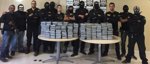 Foto de Polícia Civil apreende 200 quilos de cocaína em Abaetetuba