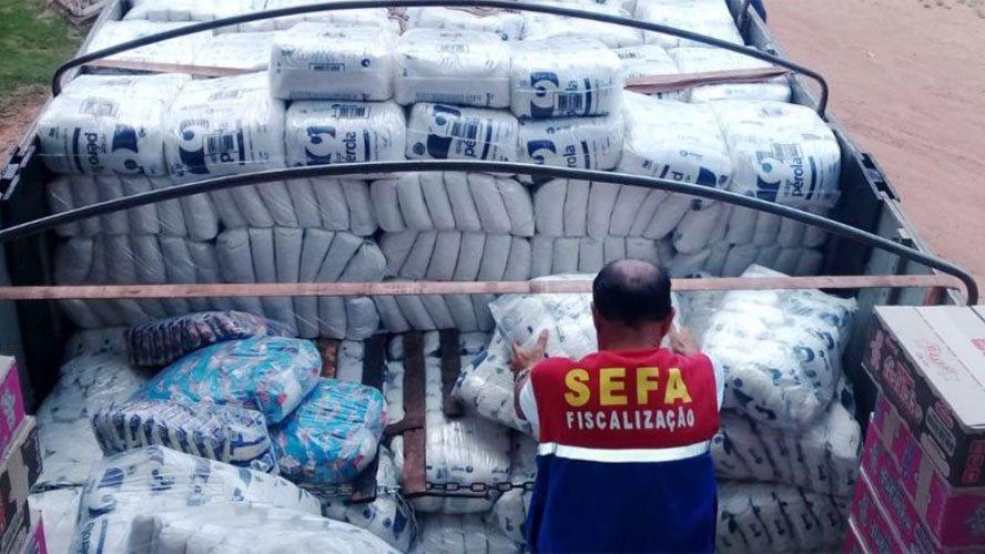 Photo of Sefa apreende 6 toneladas de açúcar sem nota fiscal