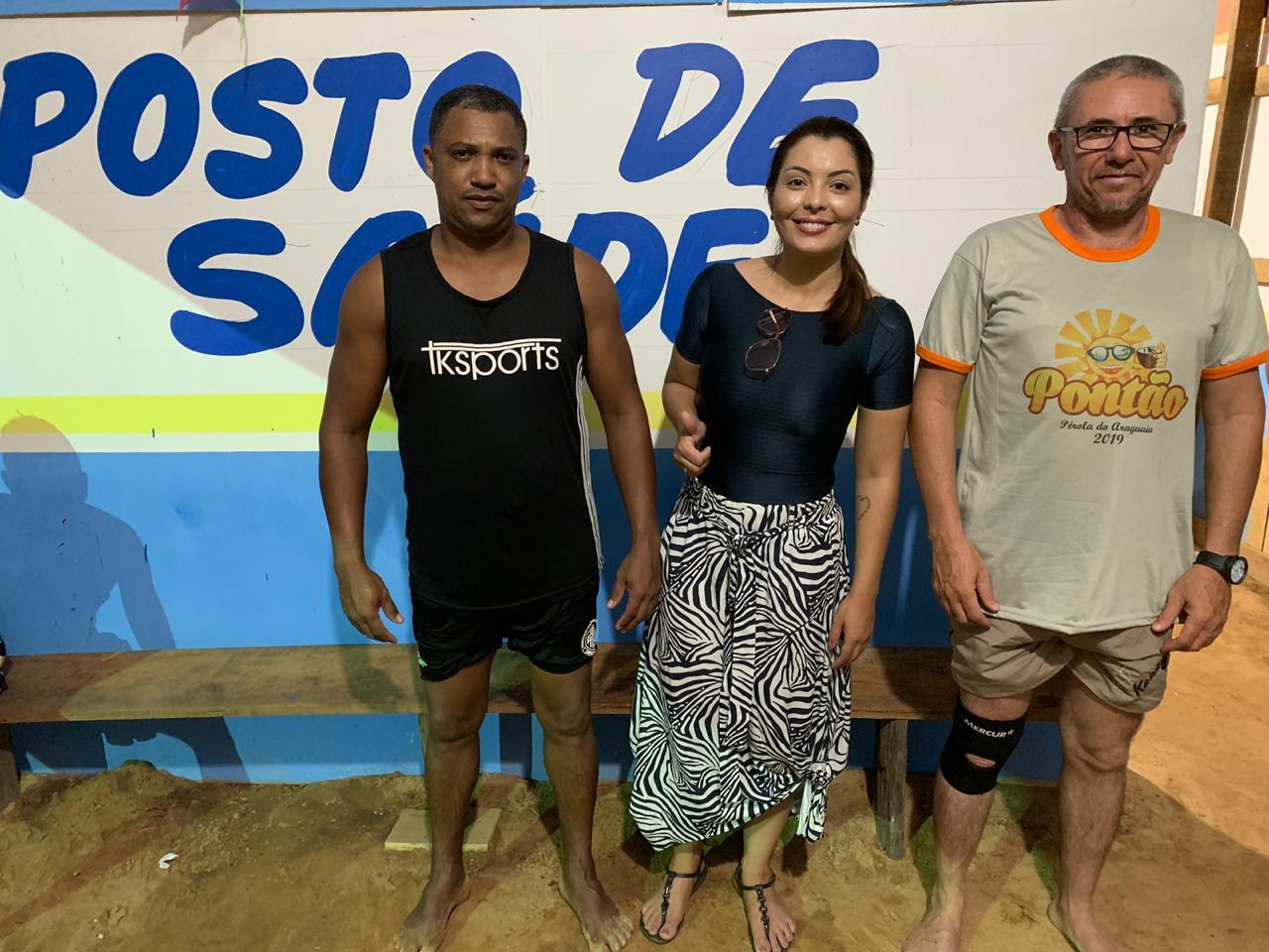 Foto de Secretaria de Saúde de Xinguara realiza atendimento na praia do Pontão durante o veraneio