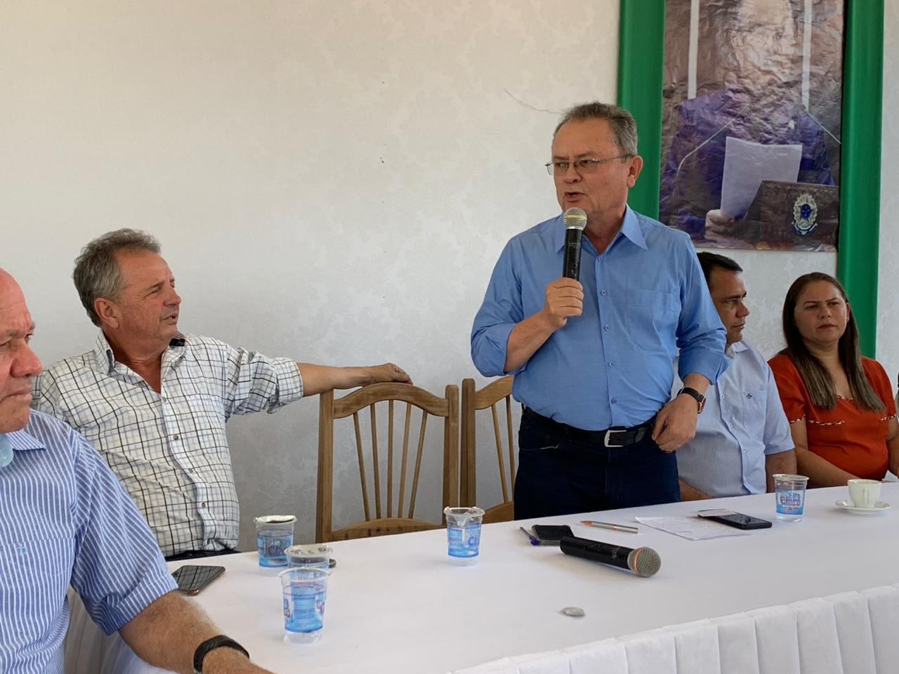 Foto de Senador Zequinha Marinho participa de reunião com lideranças políticas em Xinguara, mas não deixa claro se o PSC terá candidato a prefeito em 2020