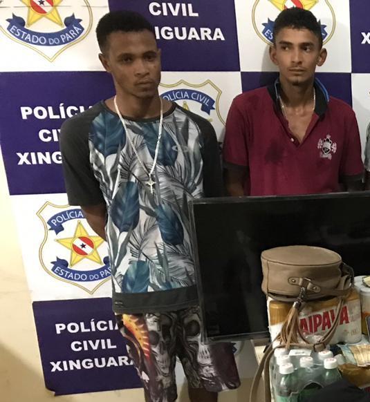 Photo of Acusados de praticarem assaltos e roubos em Xinguara permanecem presos. Dois são liberados por não terem sido reconhecidos pelas vitimas