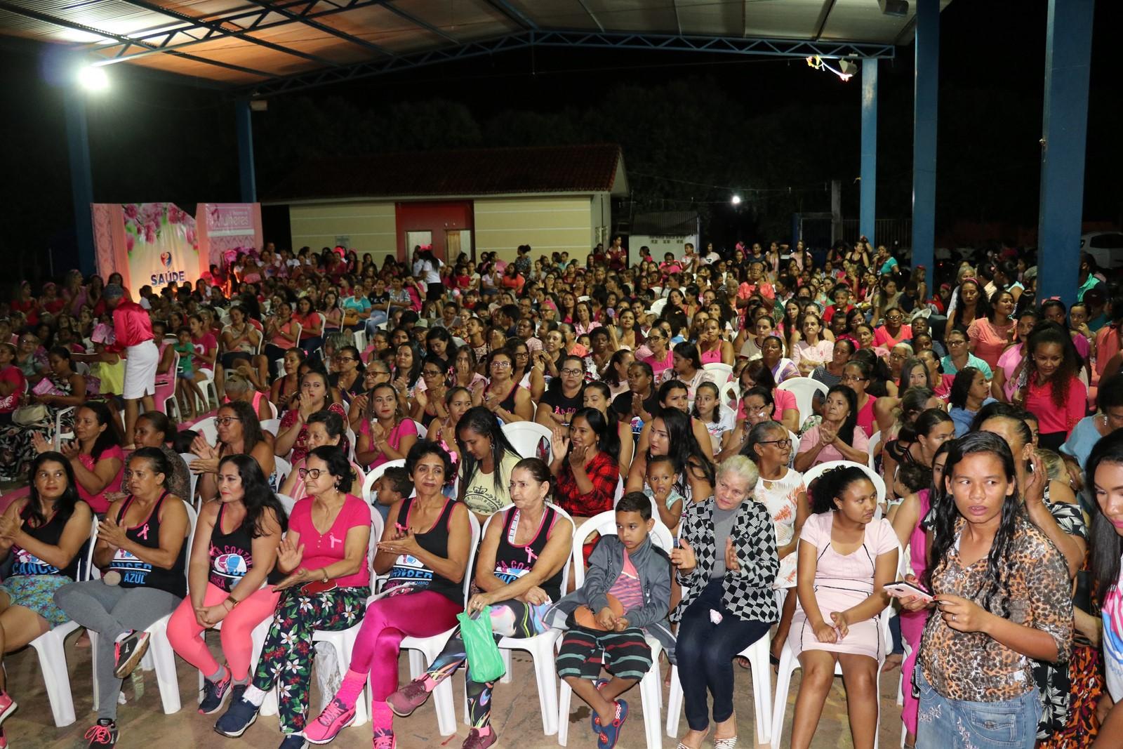 Foto de Xinguara: O 1º Encontro de Mulheres, em alusão ao Outubro Rosa reuniu mais de 900 pessoas