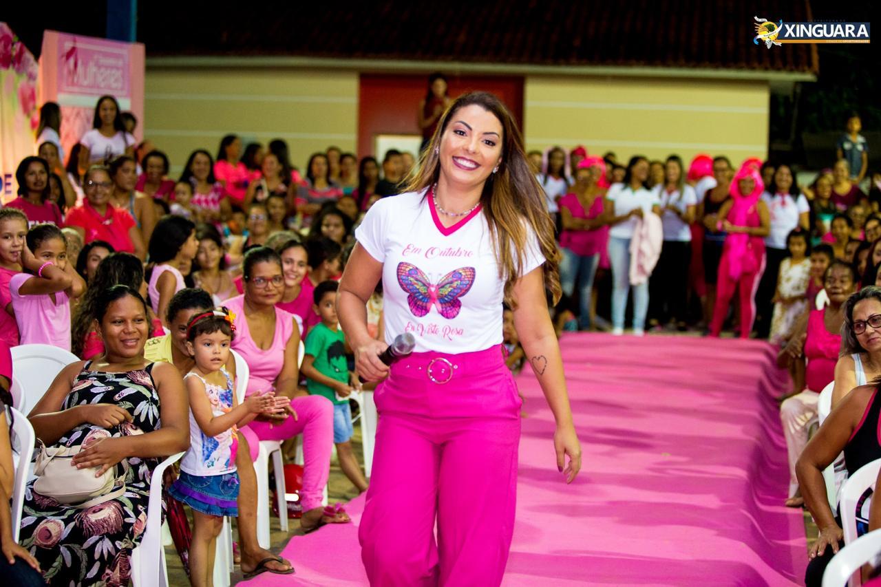 Foto de Pré-candidata a prefeita de Xinguara, Janaína Pereira continua apostando no trabalho para crescer politicamente