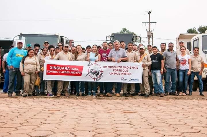 Foto de COMBATE: Xinguara trava luta contra o mosquito Aedes Aegypti