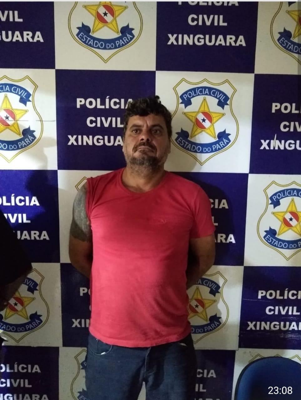 Foto de Assaltante de Banco foragido da Justiça foi preso pela PM em Xinguara