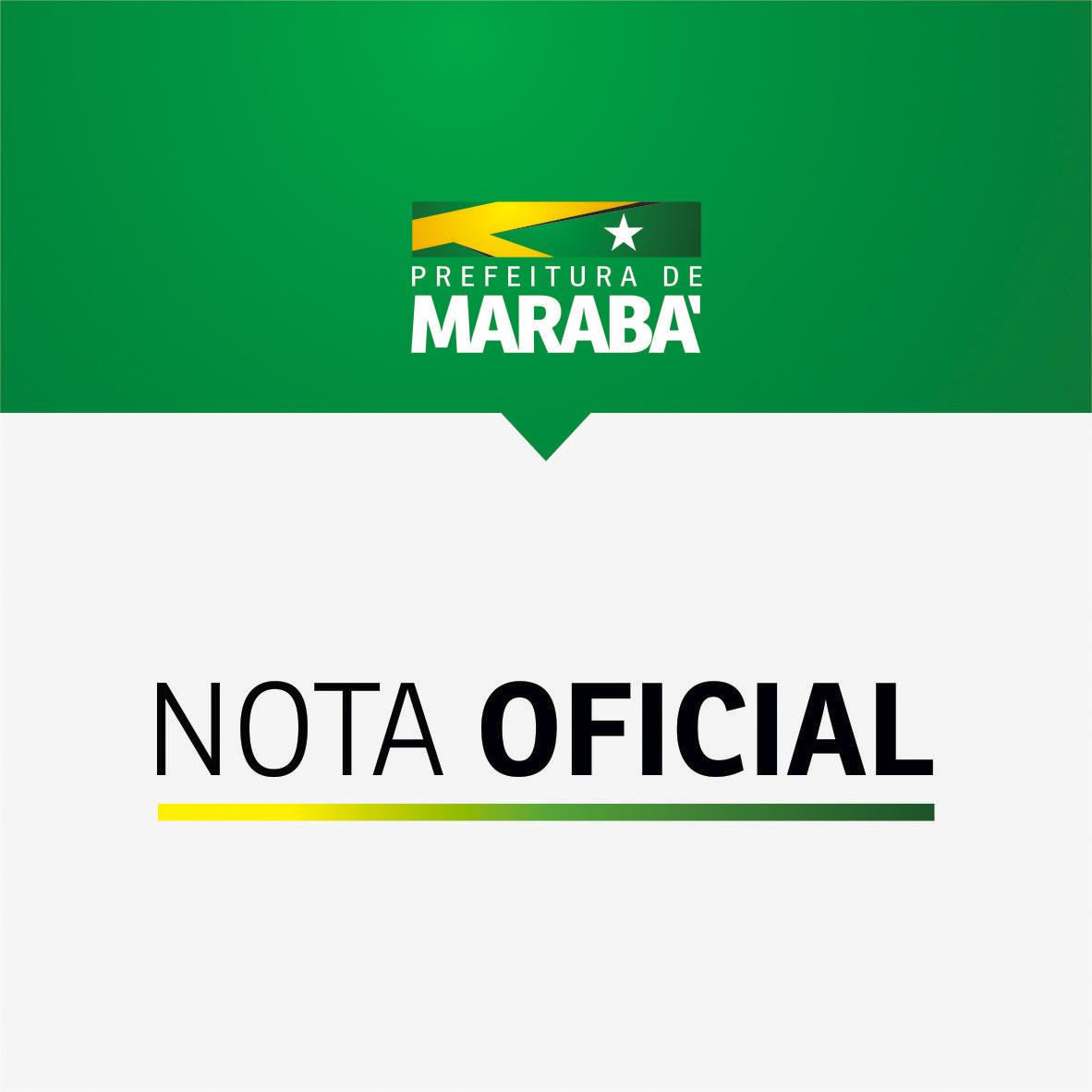 Foto de Nota oficial sobre notícia falsa sobre alunos do Colégio Militar de Marabá
