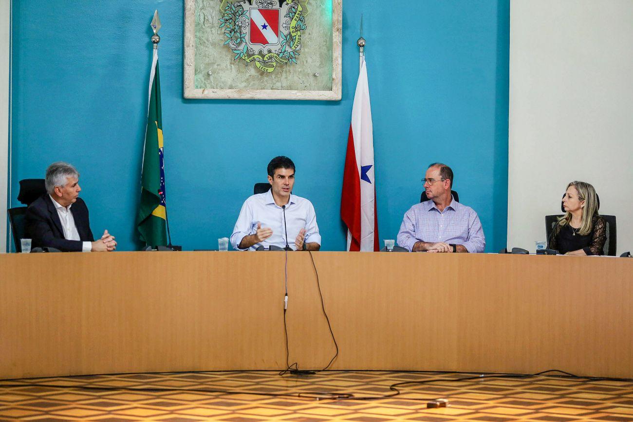 Foto de Governo quer transparência e agilidade na distribuição de cestas de alimentação para alunos da rede pública estadual
