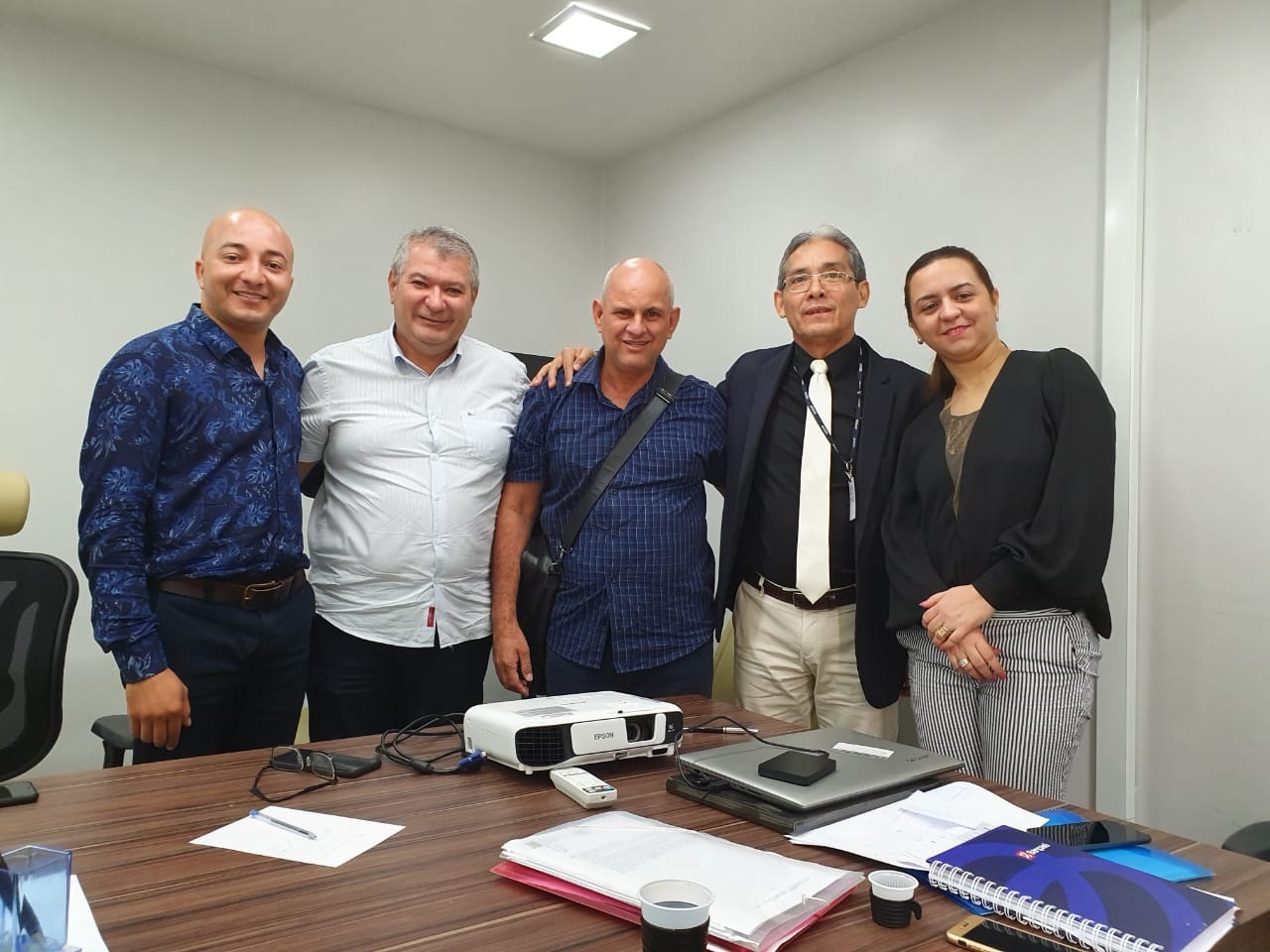 Foto de Convênio para reformar prédio da Câmara Municipal de Xinguara tem pontapé inicial após reunião em Belém