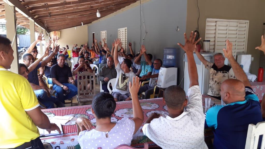 Foto de PSB de Xinguara se reúne, filia Roberto da Yamaha e delibera sobre rumos das eleições municipais
