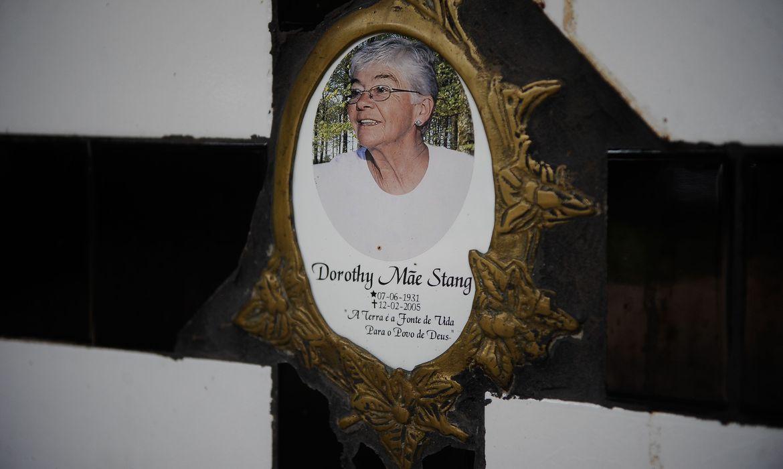 Foto de PM de São Paulo prende acusado de participar da morte de Dorothy Stang