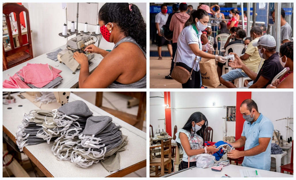 Photo of Prefeitura começa a distribuir máscaras para a população de Parauapebas