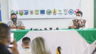Foto de Governo do Estado e Governo Federal avaliam ações de combate ao desmatamento ilegal e queimadas no Pará