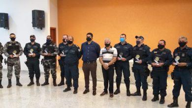 Foto de Policiais Militares de Xinguara são homenageados pela Associação Comercial por ato de bravura