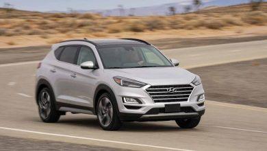 Foto de Hyundai Tucson, um carro seguro na estrada