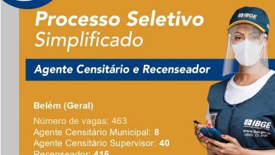 Foto de IBGE abre quase 7 mil vagas temporárias Para o Censo 2021 no Pará